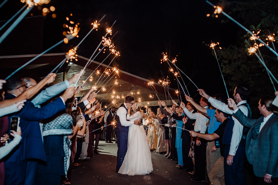 Sugarloaf Mane Wedding Sparkler Send off